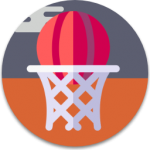 Baskettball-Icon