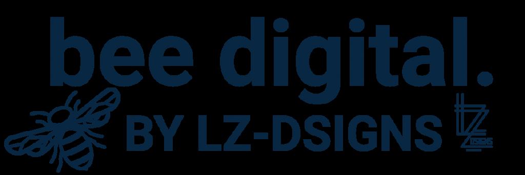 LZ-Dsigns Logo bee digital